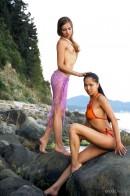 Natasha & Marina in Paradise gallery from METMODELS by Skokov - #9
