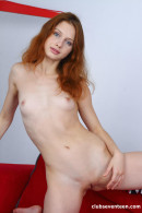 Clarise in Sexy Redhead Showing Her Tight Pussy gallery from CLUBSEVENTEEN - #9