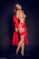 Monika Dee in Red & Black gallery from ALEX-LYNN by Alex Lynn - #1