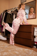 Caroline Abel in Silk Pj's gallery from METART by Albert Varin - #2