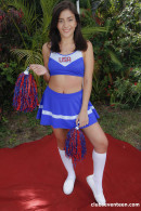 Natalie Brooks in Cheerleader Gets Her Snatch Banged gallery from CLUBSEVENTEEN - #14