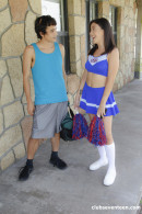 Natalie Brooks in Cheerleader Gets Her Snatch Banged gallery from CLUBSEVENTEEN - #7