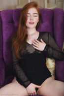 Jia Lissa in Fiolet gallery from ERROTICA-ARCHIVES by Flora - #1