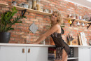 Casey in Cozy Kitchen gallery from METART by Tora Ness - #9