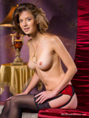 Anita in Waiting for Santa gallery from MY NAKED DOLLS by Tony Murano - #1