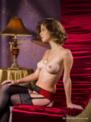 Anita in Waiting for Santa gallery from MY NAKED DOLLS by Tony Murano - #2