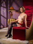 Anita in Waiting for Santa gallery from MY NAKED DOLLS by Tony Murano - #3