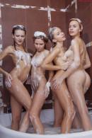 Milena Angel & Mary Che & Alisa Bri & Sonya in Bathing Time gallery from MILENA ANGEL by Erik Latika - #16