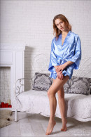 Clarice in Blue Satin Baby gallery from MPLSTUDIOS by Ulrikka - #6