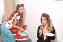 Milena Angel & Marianna M in PinUp Dolls gallery from MILENA ANGEL by Erik Latika - #1