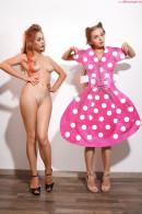 Milena Angel & Marianna M in PinUp Dolls gallery from MILENA ANGEL by Erik Latika - #2