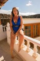 Jane A in Funky Blue gallery from REALBIKINIGIRLS - #2