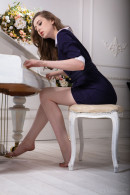 Ginger Frost in Conservative Dress gallery from METART by Nudero - #15